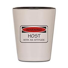 Attitude Host Shot Glass