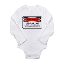 Attitude Librarian Long Sleeve Infant Bodysuit