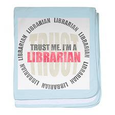 Trust Librarian baby blanket