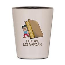 Future Librarian Shot Glass