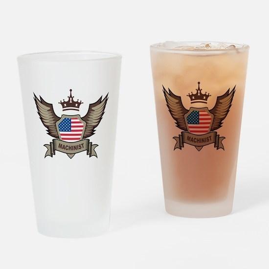 American Machinist Pint Glass