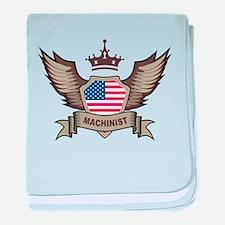 American Machinist baby blanket