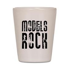 Models Rock Shot Glass