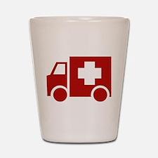 Ambulance Shot Glass