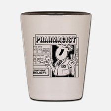 Retro Pharmacist Shot Glass