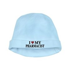 I Love My Pharmacist baby hat