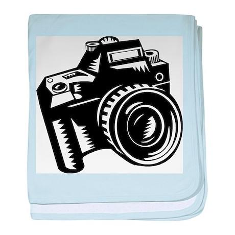 Camera baby blanket