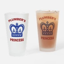 Plumber's Princess Pint Glass