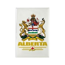 Alberta Coat of Arms Rectangle Magnet