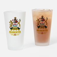 Alberta Coat of Arms Pint Glass