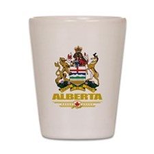 Alberta Coat of Arms Shot Glass