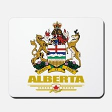 Alberta Coat of Arms Mousepad