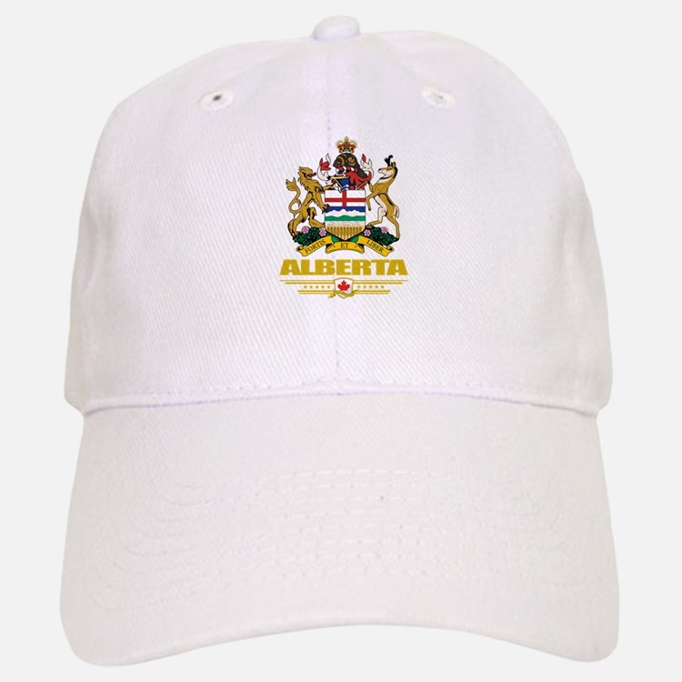 Alberta Coat of Arms Baseball Baseball Cap