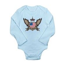 American Taxi Driver Long Sleeve Infant Bodysuit