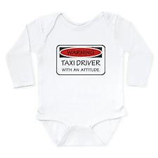 Attitude Taxi Driver Long Sleeve Infant Bodysuit