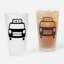 Taxi Pint Glass