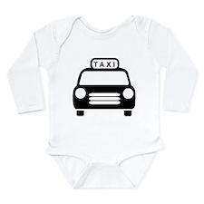 Taxi Long Sleeve Infant Bodysuit