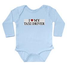 Taxi Driver Long Sleeve Infant Bodysuit