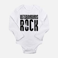 Veterinarians Rock Long Sleeve Infant Bodysuit