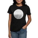 Flower Of Life Symbol Women's Dark T-Shirt