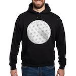 Flower Of Life Symbol Hoodie (dark)