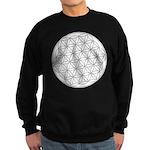 Flower Of Life Symbol Sweatshirt (dark)