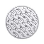 Flower Of Life Symbol Ornament (Round)