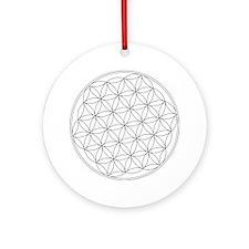 Flower Of Life Symbol Ornament (Round)