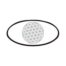 Flower Of Life Symbol Patches