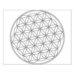 Flower Of Life Symbol Small Poster