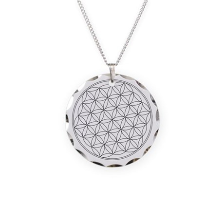 Flower Of Life Symbol Necklace Circle Charm