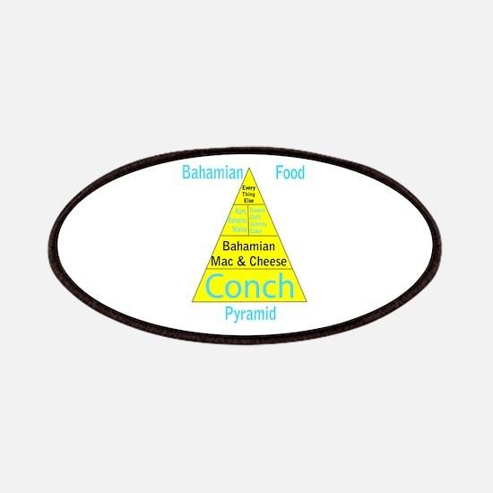 Bahamian Food Pyramid Patches