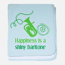 Shiny Baritone baby blanket