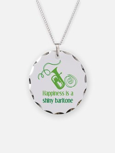 Shiny Baritone Necklace