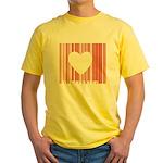 I Love You Yellow T-Shirt