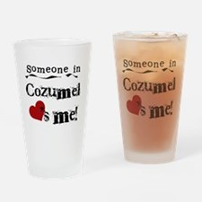 Someone in Cozumel Pint Glass