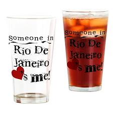 Someone in Rio de Janeiro Pint Glass