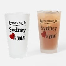Someone in Sydney Pint Glass