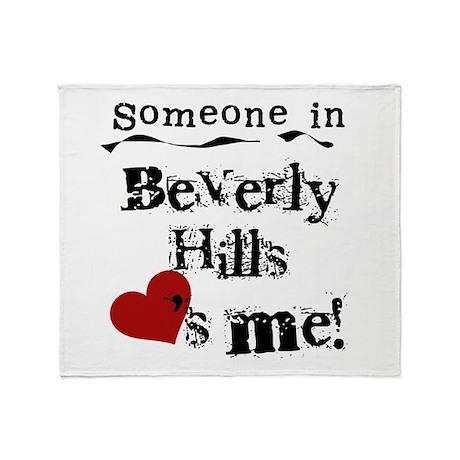 Beverly Hills Loves Me Throw Blanket