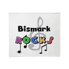 Bismark Rocks Throw Blanket
