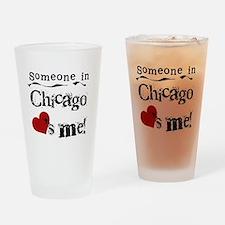 Chicago Loves Me Pint Glass