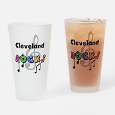 Cleveland Rocks Pint Glass