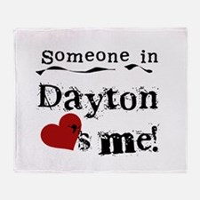 Dayton Loves Me Throw Blanket