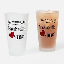 Nashville Loves Me Pint Glass