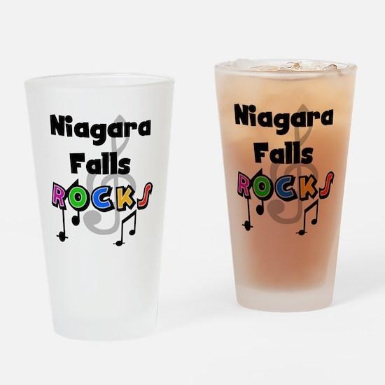 Niagara Falls Rocks Pint Glass