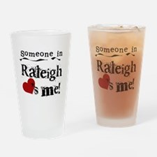 Raleigh Loves Me Pint Glass