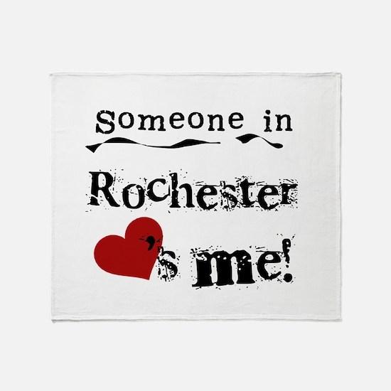 Rochester Loves Me Throw Blanket