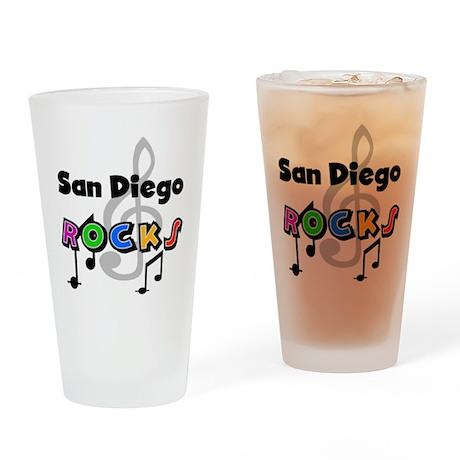 San Diego Rocks Pint Glass
