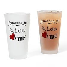 St. Louis Loves Me Pint Glass