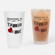 Tampa Loves Me Pint Glass